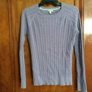 Sonoma Purple Crewneck Sweater